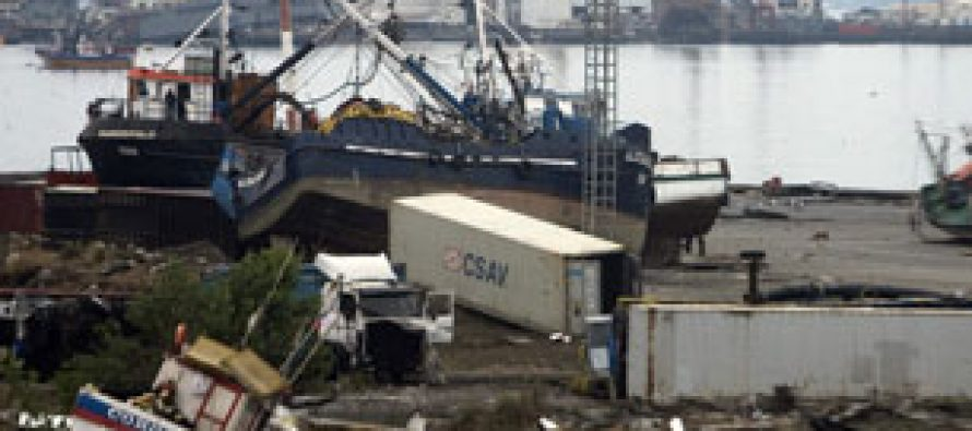 Chile Fishermen Fight to Recover From Quake