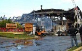 Tras el incendio: En Proagar ya piensan cómo levantar la fábrica