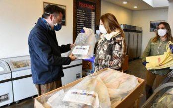 Pesca Chile donó 730 kilos de reineta para canastas familiares en Punta Arenas