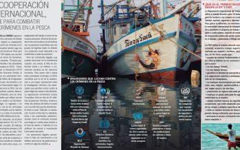 La cooperación internacional, clave para combatir los crímenes en la pesca