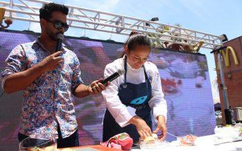 """Feria """"Come Pescado"""" enseñó recetas novedosas a comunidad ariqueña y autoridades hicieron llamado a combatir pesca ilegal"""