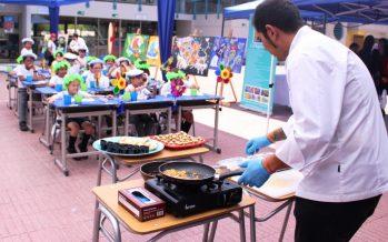Con degustaciones, títeres, pinturas y murales buscan fomentar el consumo de productos del mar en niños