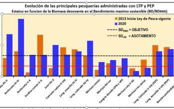 El 63% de las pesquerías industriales en Chile están dentro del rendimiento máximo sostenible