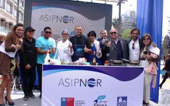 Feria gastronómica promueve el consumo de productos del mar y la vida sana