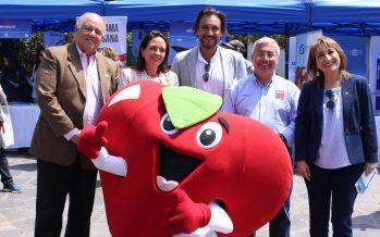 Feria gastronómica con cocina en vivo en Iquique para incentivar el consumo de productos del mar