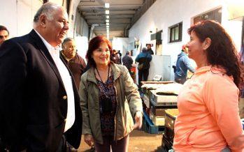 Sonapesca se reúne con comerciantes del Terminal Pesquero Metropolitano para promover consumo de productos del mar