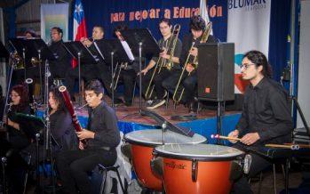 """Con apoyo de Blumar: Realizan primer concierto """"Difusión por el Puerto"""" en Talcahuano"""