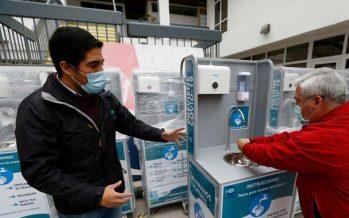 Corpesca dona nueve lavamanos portátiles a Gobierno Regional de Tarapacá