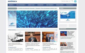 Integra estándares de Chile Transparente: Sonapesca F.G. lanza nuevo sitio web  pro transparencia y pesca responsable