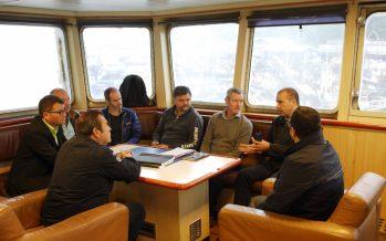 Empresa internacional realiza visitas en terreno como parte del proceso de certificación de sustentabilidad de pesquería del jurel